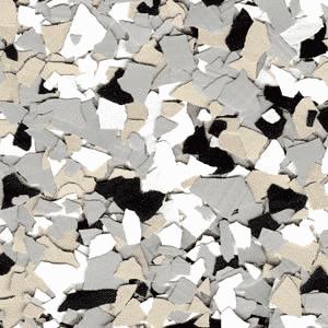 decorative epoxy flakes