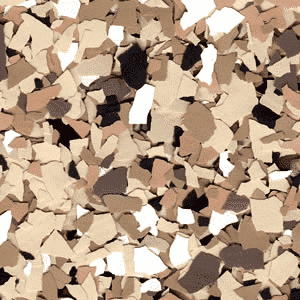 decorative flake chips