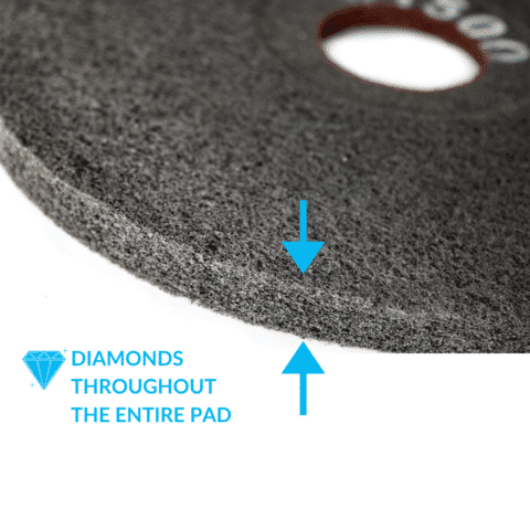 Double Sided Concrete Diamond Pad 1500