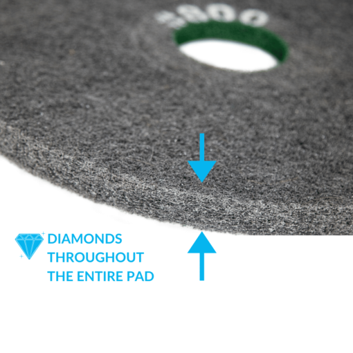 Double Sided Concrete Diamond Pad 800