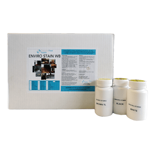 waterbased stain samples