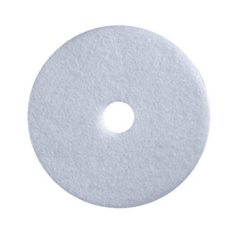 "17"" white floor buff pad"