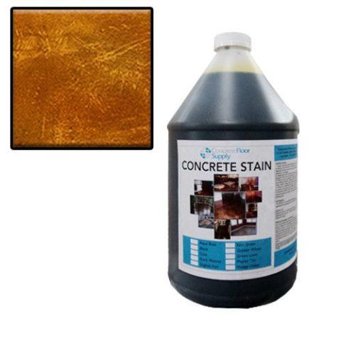 brown acid stain wash