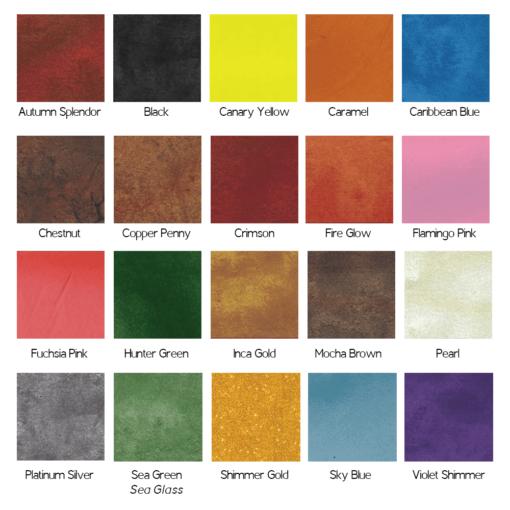 20 Metallic Colors