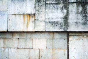 Rust On Concrete Building