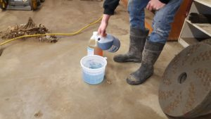 Satellite Pads for concrete floors