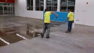 Polishing Concrete Floors