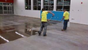 Polishing Concrete Floors
