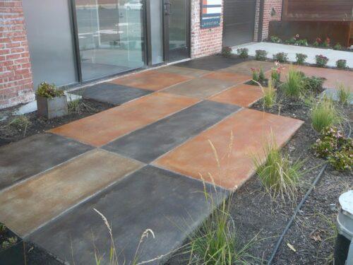 Instant Gratification Concrete Dye