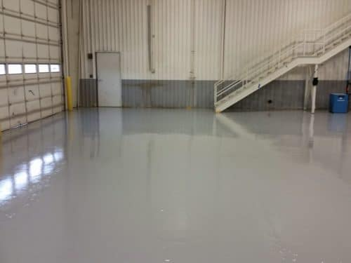 Thick Color Epoxy Coating