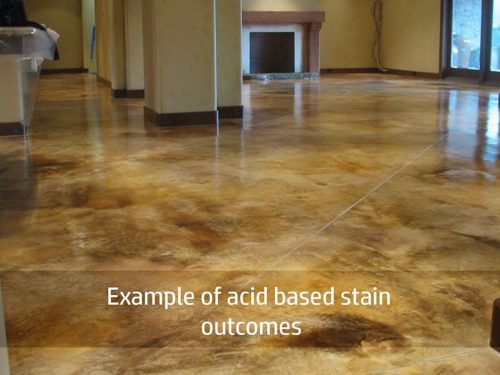 concrete acid stain example