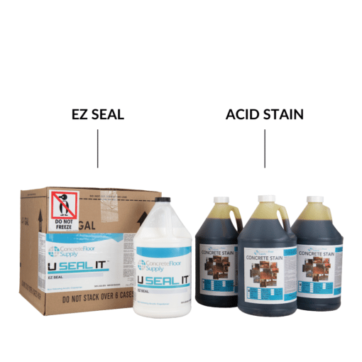 concrete acid stain system
