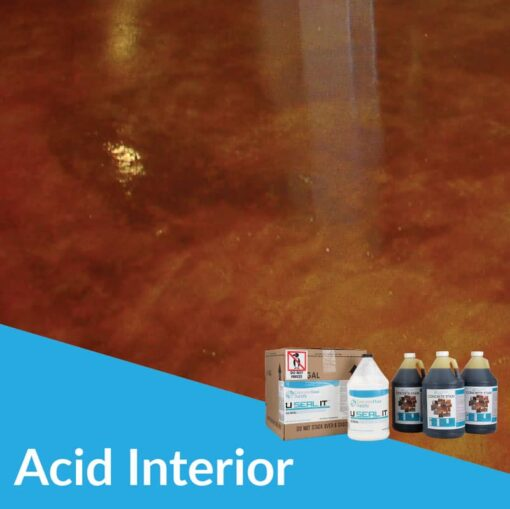 acid stain system